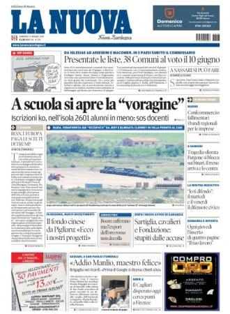 La Nuova Sardegna - 13/05/2018