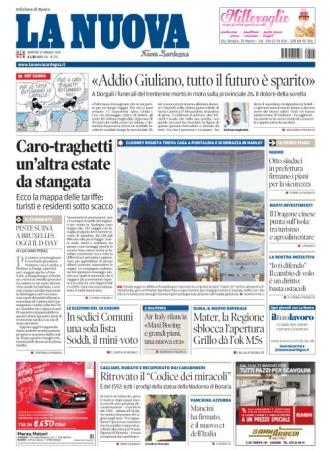 La Nuova Sardegna - 15/05/2018