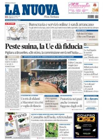 La Nuova Sardegna - 16/05/2018