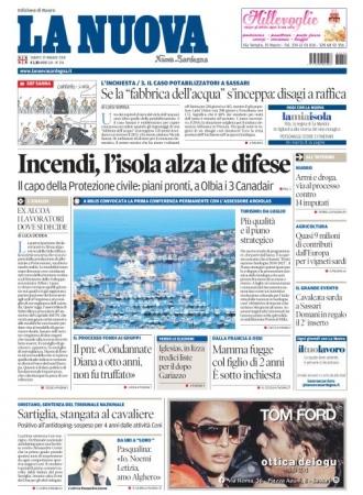 La Nuova Sardegna - 19/05/2018