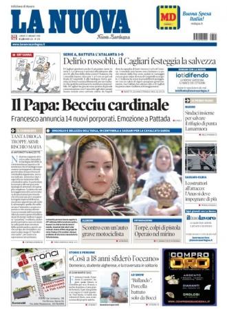 La Nuova Sardegna - 21/05/2018