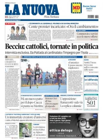 La Nuova Sardegna - 24/05/2018