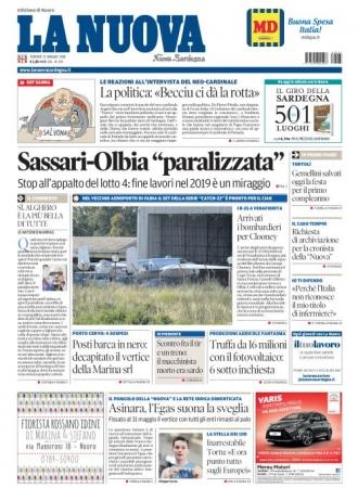 La Nuova Sardegna - 25/05/2018