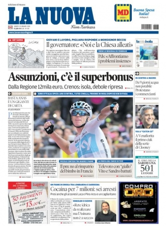 La Nuova Sardegna - 26/05/2018