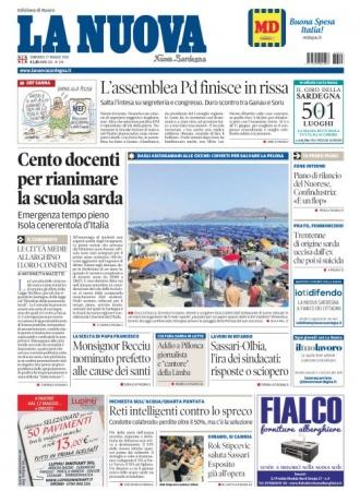La Nuova Sardegna - 27/05/2018