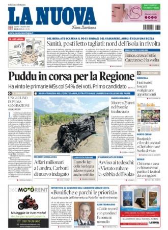 La Nuova Sardegna - 04/08/2018
