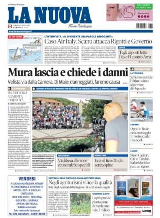 La Nuova Sardegna - 05/08/2018