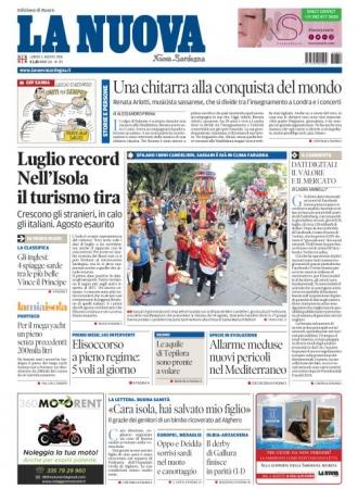 La Nuova Sardegna - 06/08/2018