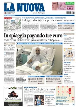 La Nuova Sardegna - 08/08/2018