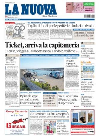 La Nuova Sardegna - 09/08/2018