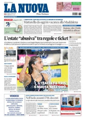 La Nuova Sardegna - 10/08/2018