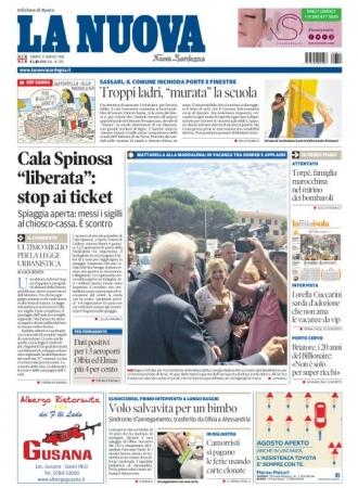La Nuova Sardegna - 11/08/2018