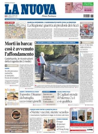 La Nuova Sardegna - 13/08/2018