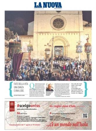 La Nuova Sardegna - 14/08/2018