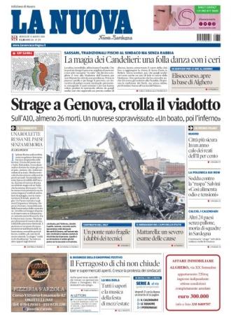 La Nuova Sardegna - 15/08/2018
