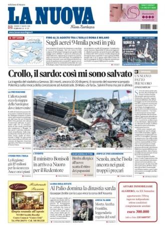 La Nuova Sardegna - 17/08/2018