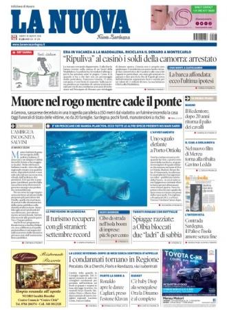 La Nuova Sardegna - 18/08/2018