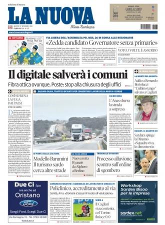 La Nuova Sardegna - 27/11/2018