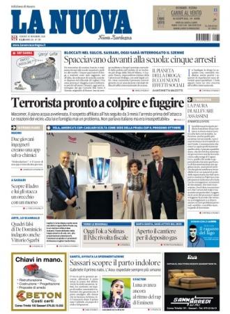 La Nuova Sardegna - 30/11/2018