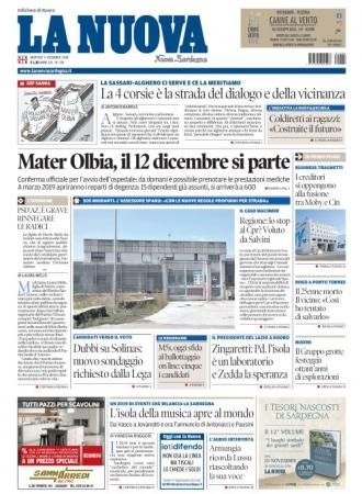 La Nuova Sardegna - 04/12/2018