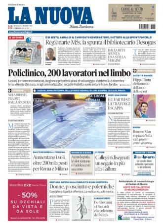 La Nuova Sardegna - 05/12/2018