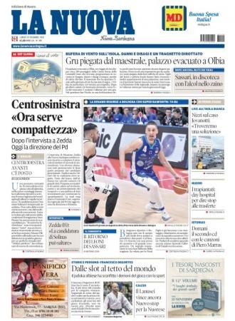 La Nuova Sardegna - 10/12/2018