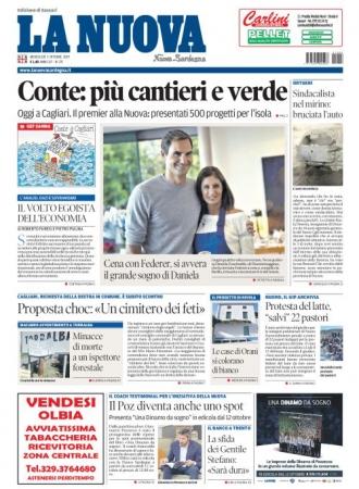 La Nuova Sardegna - 02/10/2019