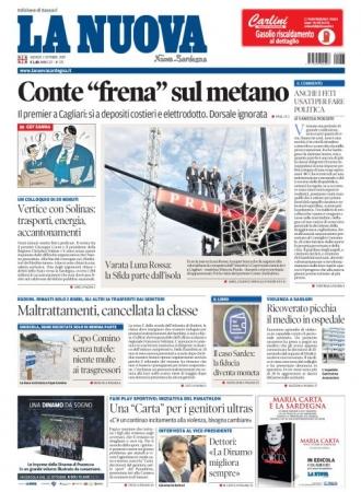 La Nuova Sardegna - 03/10/2019