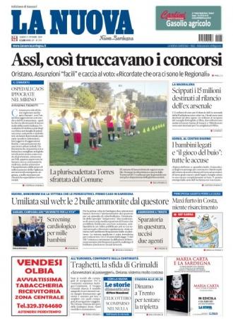 La Nuova Sardegna - 05/10/2019