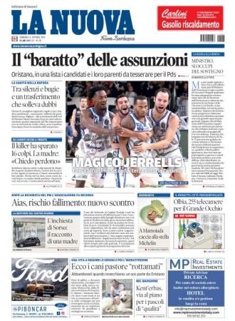 La Nuova Sardegna - 06/10/2019