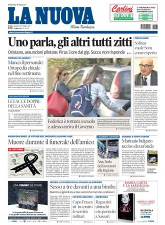 La Nuova Sardegna - 08/10/2019