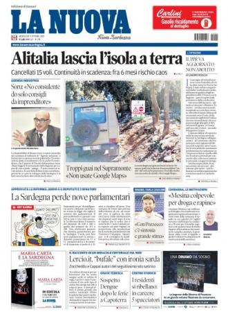 La Nuova Sardegna - 09/10/2019