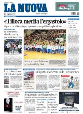 La Nuova Sardegna - 11/10/2019