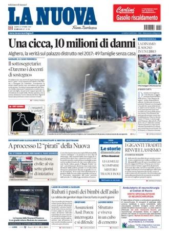 La Nuova Sardegna - 12/10/2019