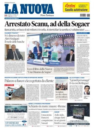 La Nuova Sardegna - 13/10/2019