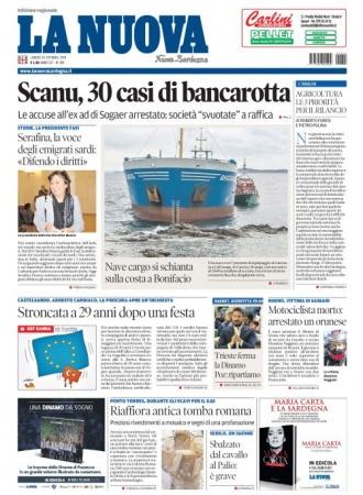 La Nuova Sardegna - 14/10/2019