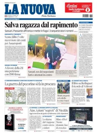 La Nuova Sardegna - 15/10/2019