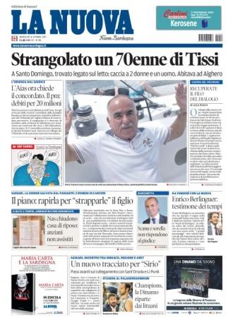 La Nuova Sardegna - 16/10/2019
