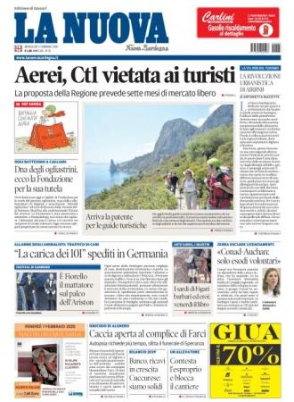 La Nuova Sardegna - 05/02/2020