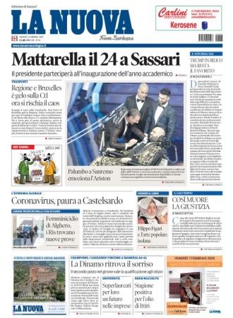 La Nuova Sardegna - 06/02/2020