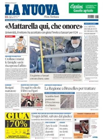 La Nuova Sardegna - 07/02/2020