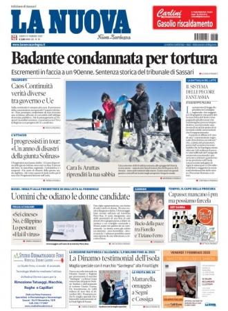 La Nuova Sardegna - 08/02/2020