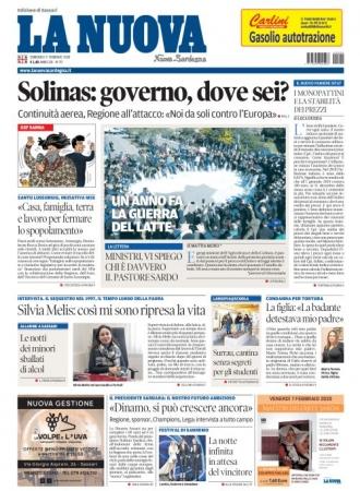 La Nuova Sardegna - 09/02/2020