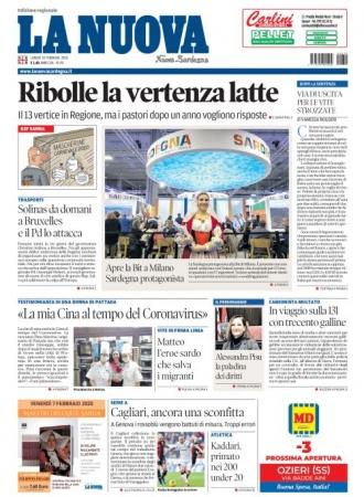 La Nuova Sardegna - 10/02/2020
