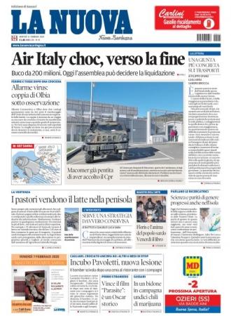 La Nuova Sardegna - 11/02/2020