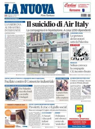 La Nuova Sardegna - 12/02/2020