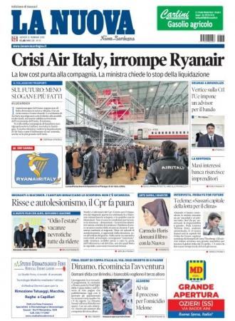 La Nuova Sardegna - 13/02/2020