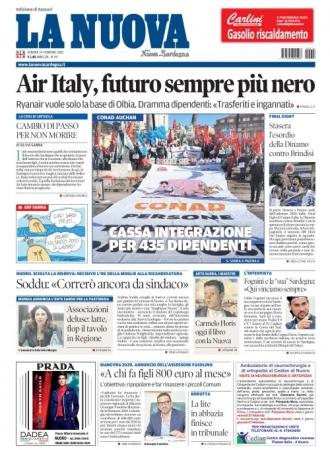 La Nuova Sardegna - 14/02/2020