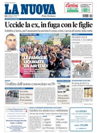 La Nuova Sardegna - 16/02/2020