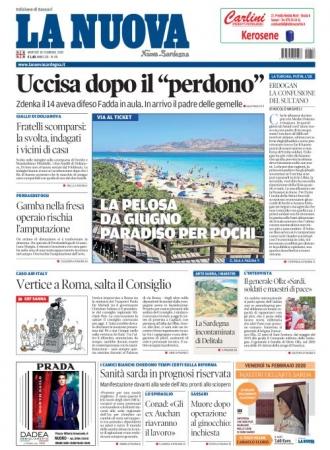 La Nuova Sardegna - 18/02/2020